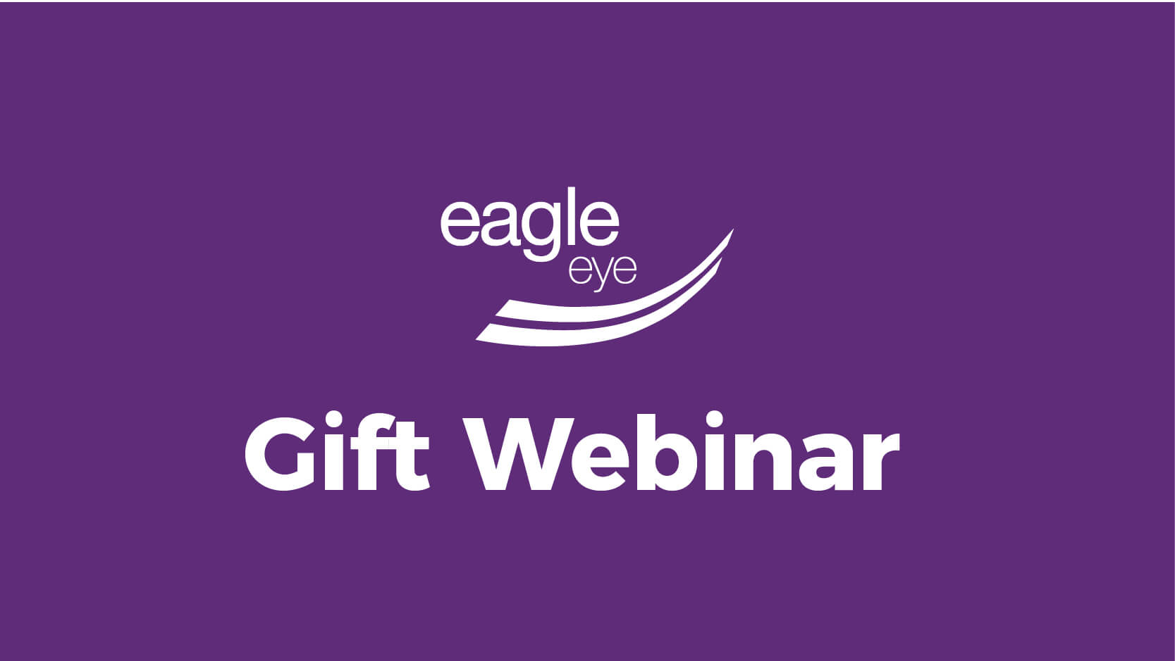Eagle Eye Gift Card product webinar
